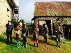 Site Visit to Llwyn Celyn