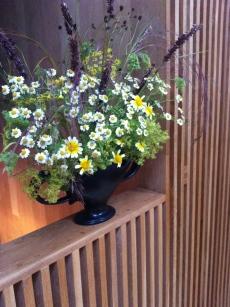 Practical flower arranging