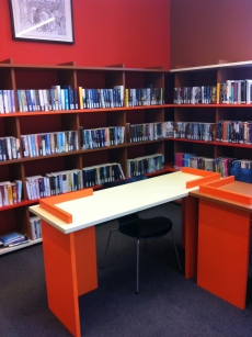 Coniston Institute library