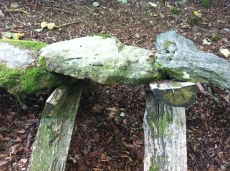 Richard Harris sculpture at Grizedale