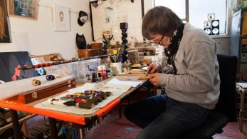 Pete Fowler studio 1